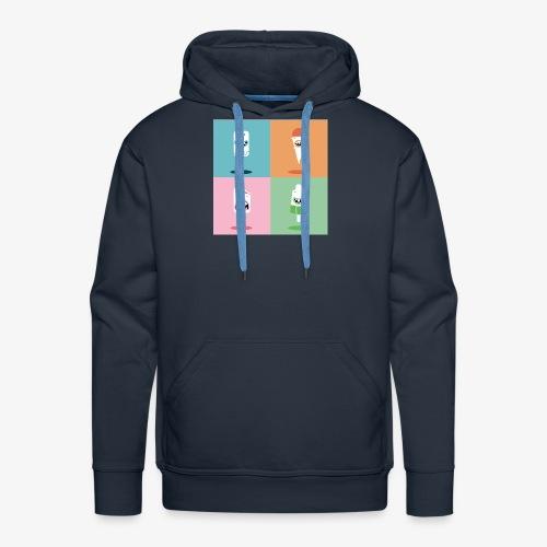 Ijsjes - Mannen Premium hoodie