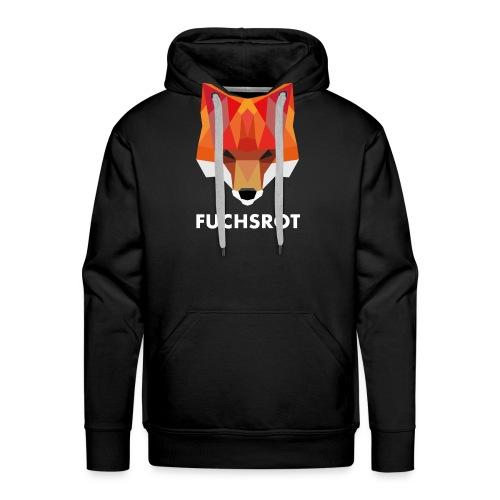 Fuchsrot - Männer Premium Hoodie
