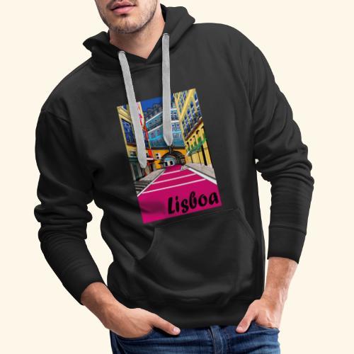 Lisboa - Sweat-shirt à capuche Premium pour hommes