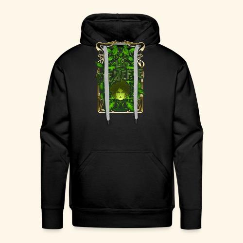 Absinth T Shirt Design La Fée Verte Art Nouveau - Männer Premium Hoodie