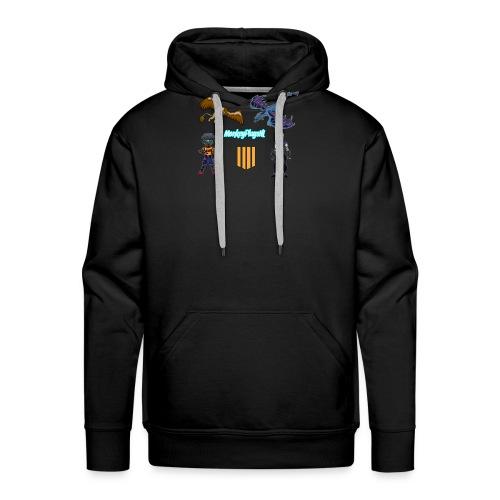 Het echte MonkeyPlaysNL Merch Shop - Mannen Premium hoodie