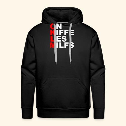 OKLM - Sweat-shirt à capuche Premium pour hommes