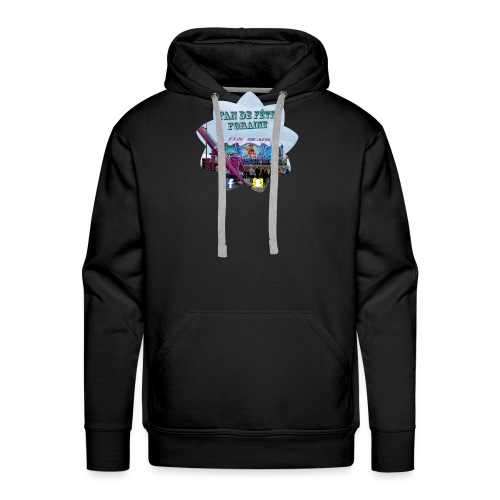 Fan de fête foraine - Sweat-shirt à capuche Premium pour hommes