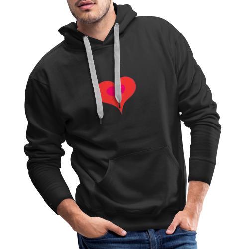 Corazon II - Sudadera con capucha premium para hombre