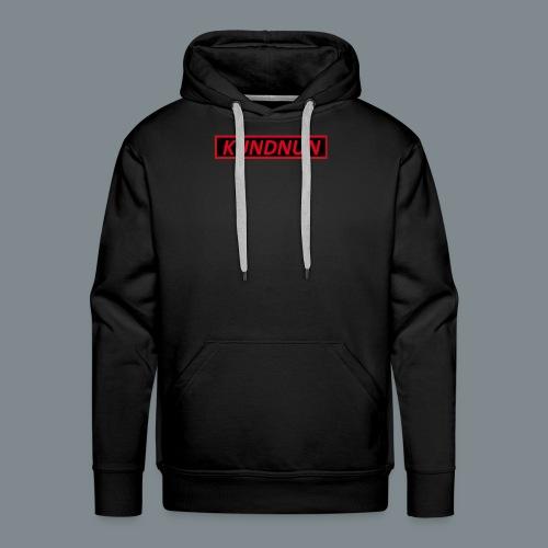 Kundnun zwart rood - Mannen Premium hoodie