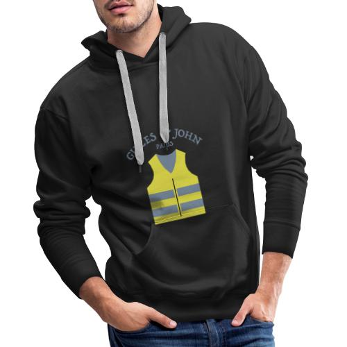 Gilles & John - Paris - Sweat-shirt à capuche Premium pour hommes
