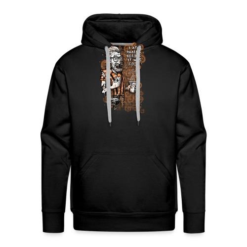 Zomb Hipster - Men's Premium Hoodie
