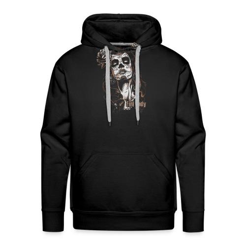 Evil Lady - Sweat-shirt à capuche Premium pour hommes