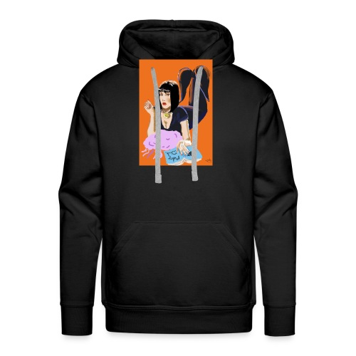 MerMia - Sweat-shirt à capuche Premium pour hommes