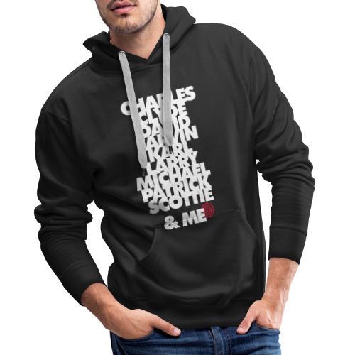 My 90 team and me - Sweat-shirt à capuche Premium pour hommes