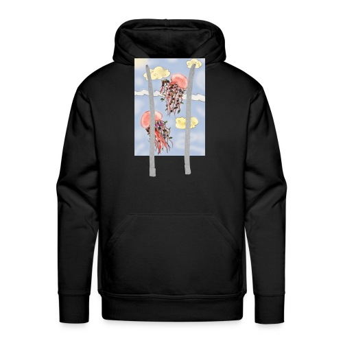 Méduses volantes - Sweat-shirt à capuche Premium pour hommes