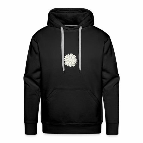 White Flower - Männer Premium Hoodie