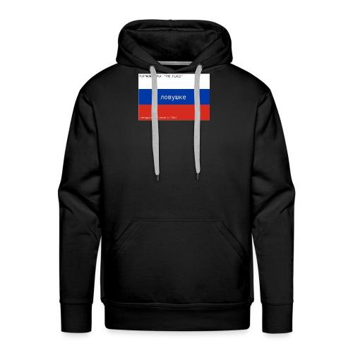 """Fuk*Money for """"THE FLAGS"""" // RUSSIA - Felpa con cappuccio premium da uomo"""