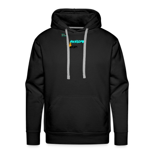 king awesome - Men's Premium Hoodie