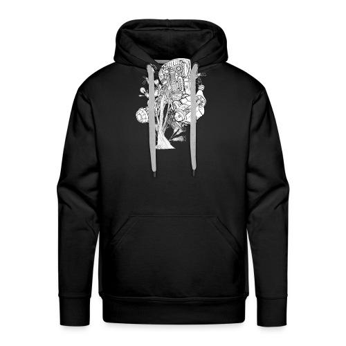 FlowerKeepr - Sweat-shirt à capuche Premium pour hommes