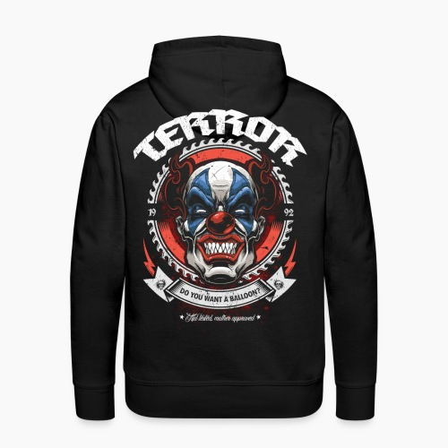 Terror - Do You Want A Balloon? - Men's Premium Hoodie