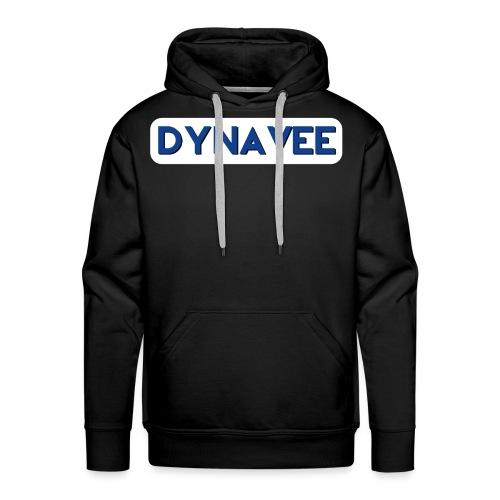 Dynavee Logo Blau - Männer Premium Hoodie