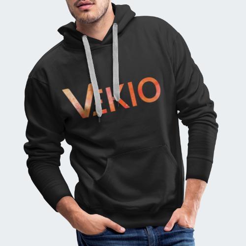 Vekio Feu - Sweat-shirt à capuche Premium pour hommes