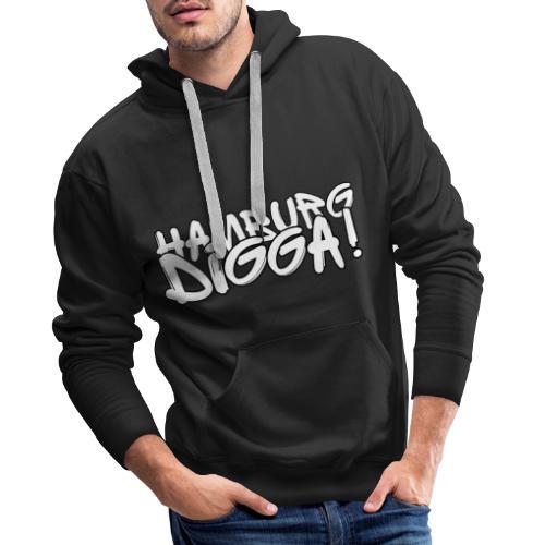 Hamburg Digga! - Männer Premium Hoodie