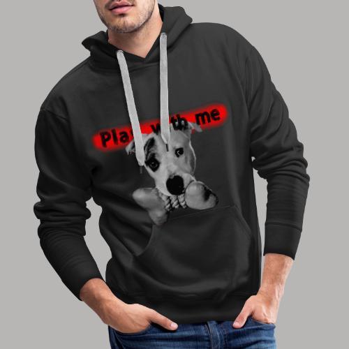 Nice Dog - Sweat-shirt à capuche Premium pour hommes