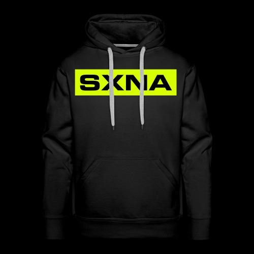 SXNA BLDBXD #LIME - Men's Premium Hoodie