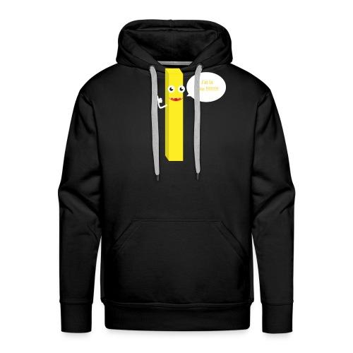 J'ai la frite ! - Sweat-shirt à capuche Premium pour hommes