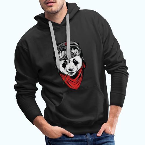 Panda pilot - Men's Premium Hoodie