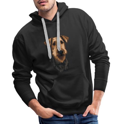 JUNO Airedale Terrier - Men's Premium Hoodie