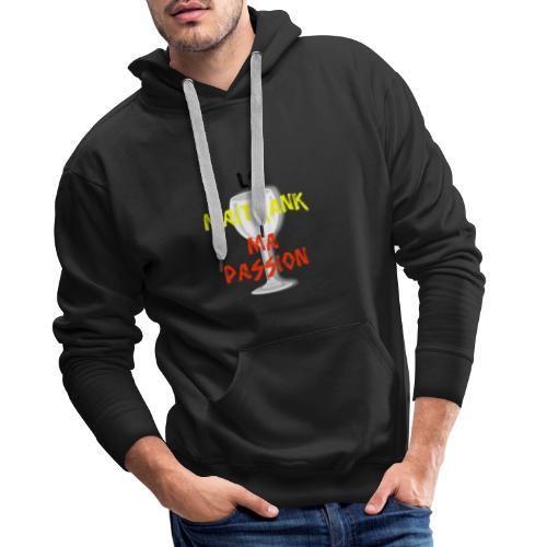 maitrank1 - Sweat-shirt à capuche Premium pour hommes