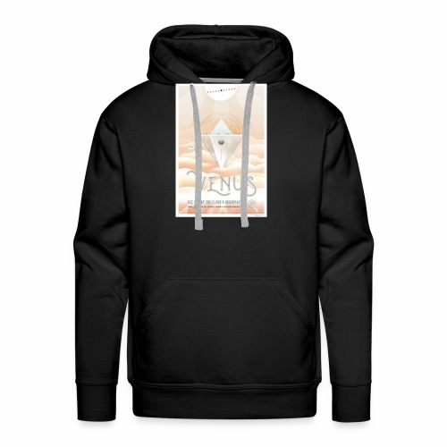 Planète Vénus - Sweat-shirt à capuche Premium pour hommes