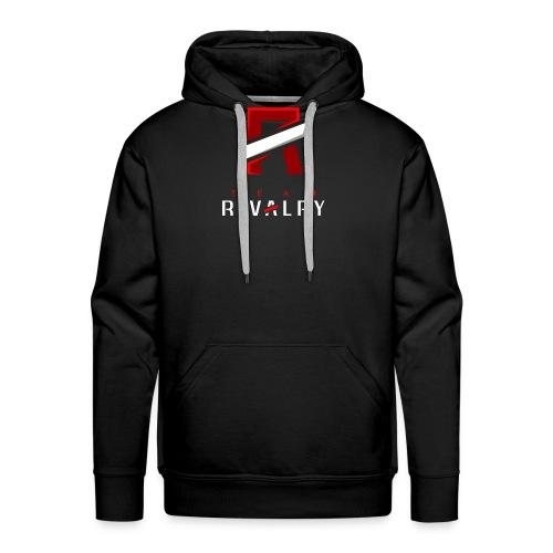 Team Rivalry White bar Design - Männer Premium Hoodie