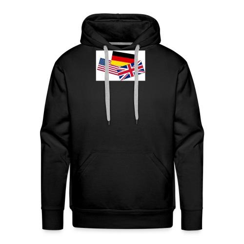 Englisch_Deutsch_Unterhaltung_Prod - Männer Premium Hoodie