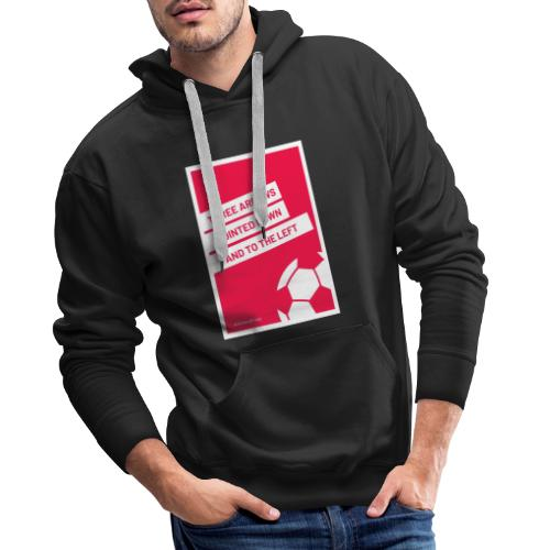 Three Arrows Pointed Down And To The Left 2 pdf - Männer Premium Hoodie
