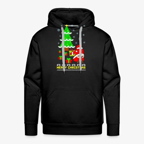 Merry Christmas Santa Tanga Ugly Xmas - Männer Premium Hoodie