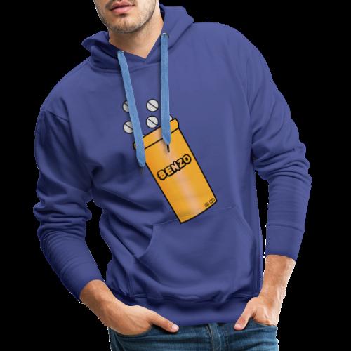 Benzo - Sweat-shirt à capuche Premium pour hommes