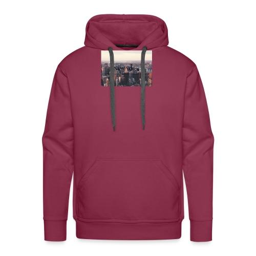 spreadshirt - Sweat-shirt à capuche Premium pour hommes