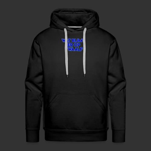 wat rijmt er op twaalf - Mannen Premium hoodie
