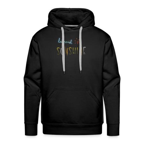 Liquid Sunshine für Regenwetter - Männer Premium Hoodie