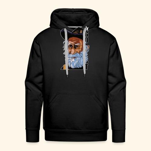 Go West - Sweat-shirt à capuche Premium pour hommes