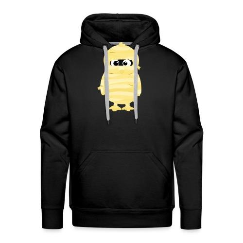Pingouin Momie - Sweat-shirt à capuche Premium pour hommes