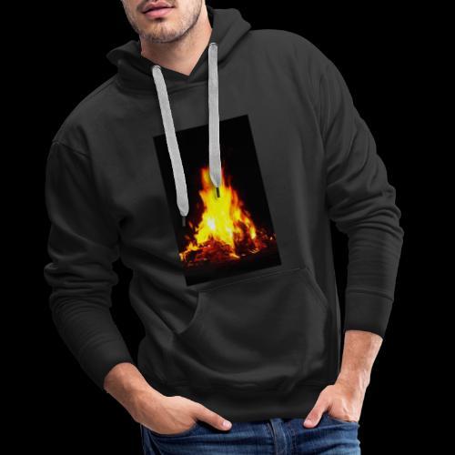 Campfire - Sweat-shirt à capuche Premium pour hommes
