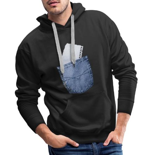 Jeans Baggy by #OneCreativeArts - Männer Premium Hoodie