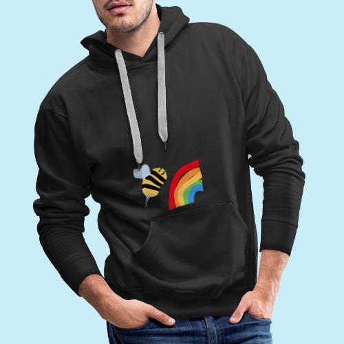 BEe Gay - Sweat-shirt à capuche Premium pour hommes