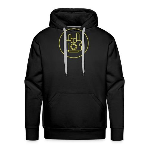 logo-kontur_1c_yellow - Men's Premium Hoodie