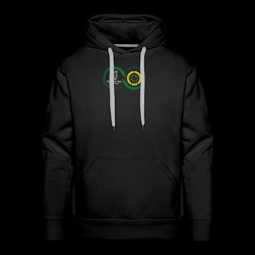 Harp and French CSC logo - Sweat-shirt à capuche Premium pour hommes