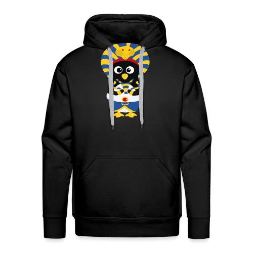 Pingouin Pharaon Egypte - Sweat-shirt à capuche Premium pour hommes