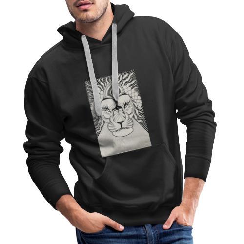 MandalArt Design - Lion - Mannen Premium hoodie