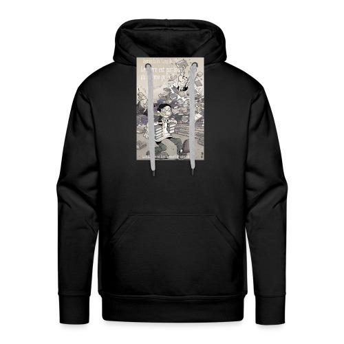 Loi lang - Sweat-shirt à capuche Premium pour hommes
