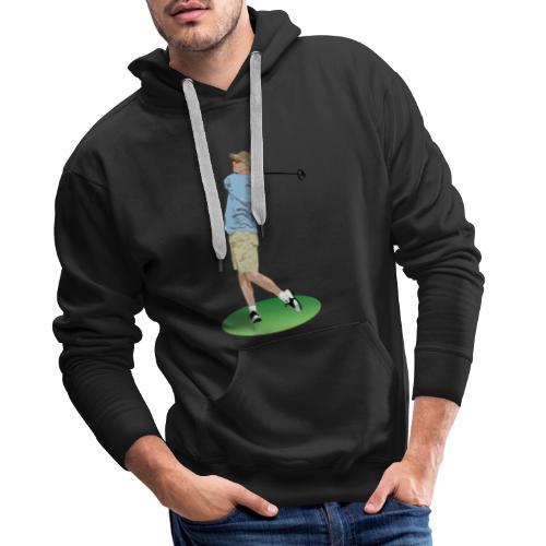 golf 23794 - Sudadera con capucha premium para hombre