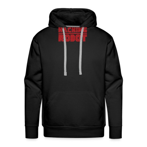 Mr. Robot - Hacking Robot - Men's Premium Hoodie